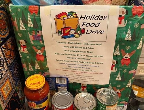 Tremont-Duck Island-Irishtown Bend Holiday Food Drive – Announcing Totals