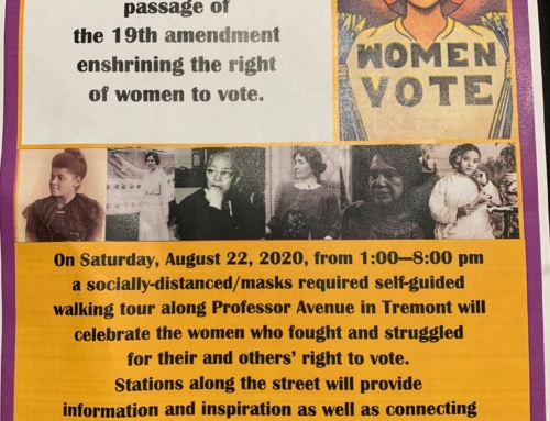 Women's Suffrage Walk – A Celebration of the 100th Anniversary of the Ratification of the 19th Amendment