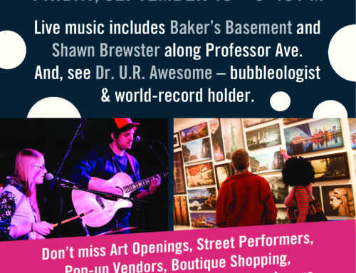 WALKABOUT TREMONT BRINGS ART, MUSIC AND MORE TO TREMONT THIS FRIDAY